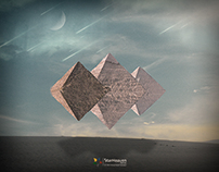 Flying Pyramids Of Giza