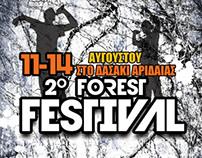 Flyer for a music festival