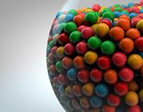 Exploding Gum Ball Machine