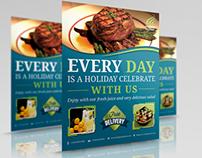 Restaurant Flyer Vol.2