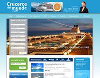 Diseño Web - Landing Cruceros