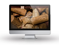 Le Caveau Wine Shop Website