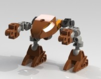 Lego Bionicle 3D Model