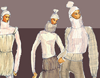 Fashion Illustration - Parsons 1999