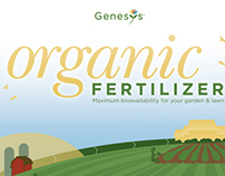 Genesys Organic Fertilizer Packaging