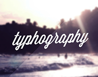 What I call ty-pho-graphy