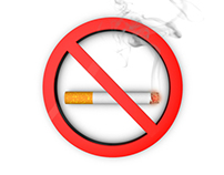 Cigarette No Smoking Symbol Animation - 2 Styles