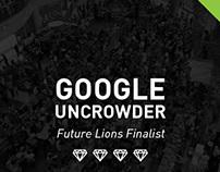 Google Uncrowder