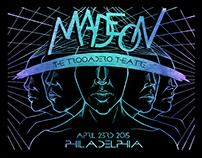 Madeon Gig Poster