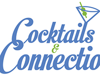 Cocktails and Connections Event Logo