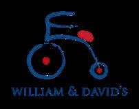 William and David's Logo