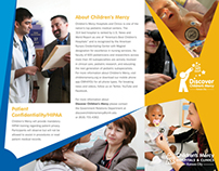 Discover Children's Mercy Trifold brochure