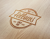 Fellows lunch bar identity