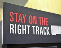 Stay on the Right Track Exhibit