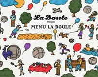 Menu La Boule
