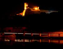 Pieta Creek by Night