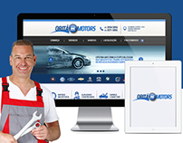 Web site Oritá Motors