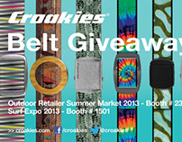 Croakies Belt Postcards
