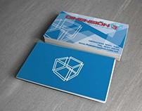 Dimensión3 // Business Card & Logo