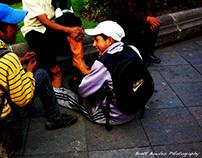 Ecuadorian Shoeshiners