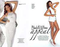 Publicação Revista Super Fashion (Angola)