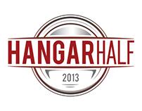 Hangar Half Logo Design