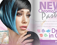 Pravana Chromasilk Ad Campaign