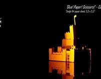 A4 sheet castle