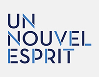 Un Nouvel Esprit corporate identity