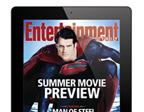 Entertainment Weekly iPad magazine