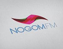 Nogom Fm logo & Stationary