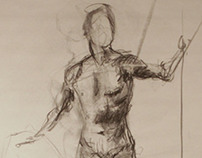 Foundation Figure Drawing Spring 2013