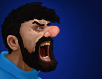 Captain Haddock Fan Art