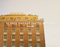 Free Vintage Photography Actions