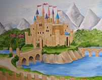 Isabella's mural.