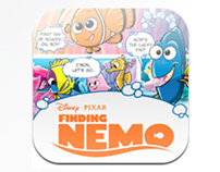 Disney Pixar's Finding Nemo Graphic Novel iOS App