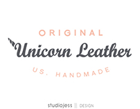 Original Unicorn Leather US Handmade Logo