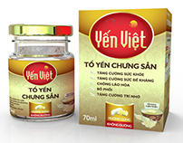 Yen Viet Bird's Nest Packaging
