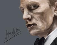 Daniel Craig Painting [Digital Art]