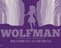 """The Wolfman"" Movie Poster"