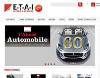 ETAI Livres & album - Logo design