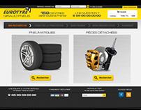 ETAI pour Eurotyre - e-store design