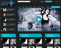 RB: Music Website PSD Template Final Output
