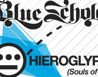 Blue Scholars + Hieroglyphics poster/flyer
