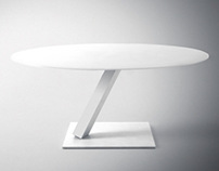 Element Tables and Chair collection by Desalto
