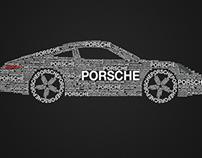Porsche 911 Typography