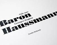 Baron Haussman Book