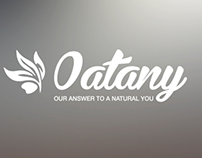 Oatany Logo identity