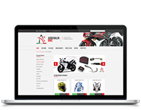 Adrenalin Bike website redesign