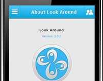 Look Around: Location based chatting app